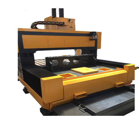 CNC Steel Drilling Machine, Flange Drilling Machine Dengan Linear Rolling Guide