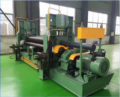 Customized Hydraulic Sheet Metal Bending Machine Untuk Barrel / Circular Shape