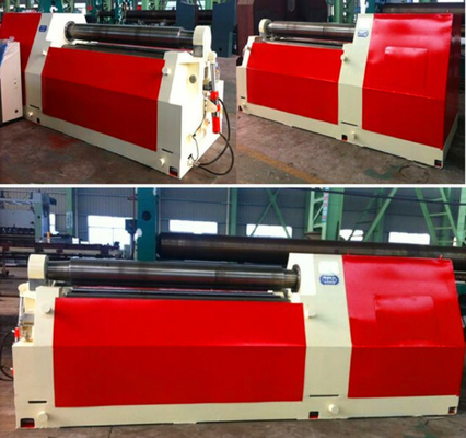 Heavy Duty Steel Sheet Bending Machine, Universal 4 Roll Bending Machine
