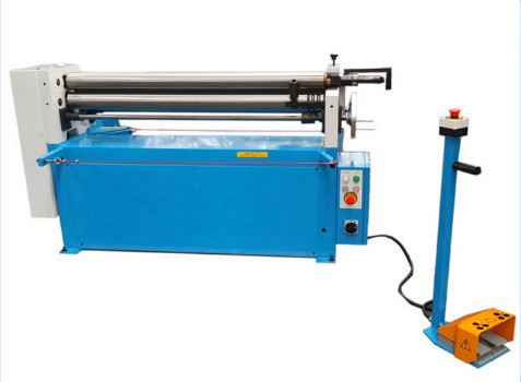 Electric Plate Bending Machine, Slip Roll Machine Atau Metal Sheet 4.5mm X 1300mm